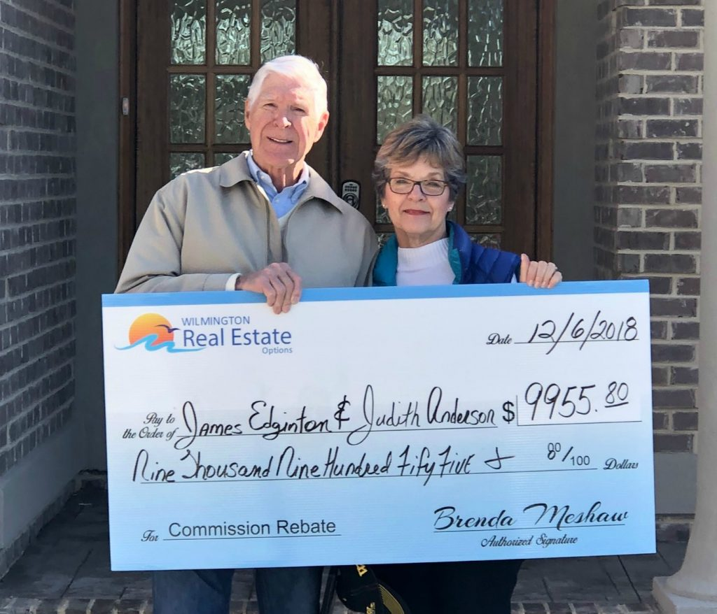 Home Buyer Rebate for James Edgington and Judith Andrews